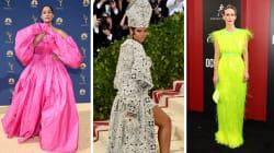 Los vestidos más impresionantes de las celebridades en