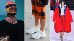 Los 'ugly sneakers' y otras tendencias que vimos en