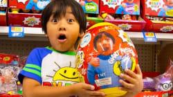 VIDEO: Él es Ryan, tiene 7 años y es el youtuber mejor pagado de la