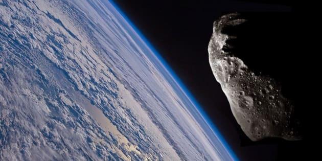 Un astéroïde va frôler la Terre ce mardi soir