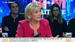 La tirade anti BFMTV de Marine Le Pen sur BFMTV ne s'est pas passée comme