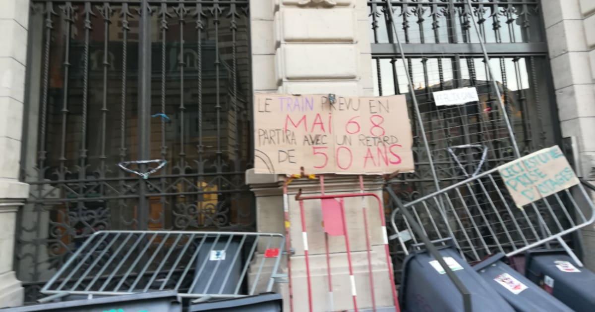 Après Paris et Rennes, Sciences Po Lille bloquée par des étudiants