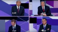 El segundo #DebateINE exhibe a los candidatos, pero en sus
