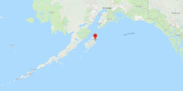 El epicentro del sismo se ha localizado a 278 kilómetros al sureste de la ciudad de Kodiak.