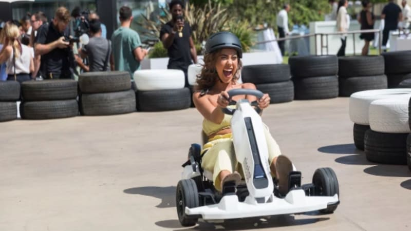 Segway gets your drift with Ninebot Electric Gokart kit