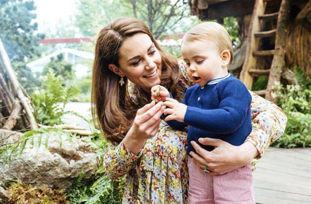 Kate Middleton's Aile Bahçesi Fotoğrafları