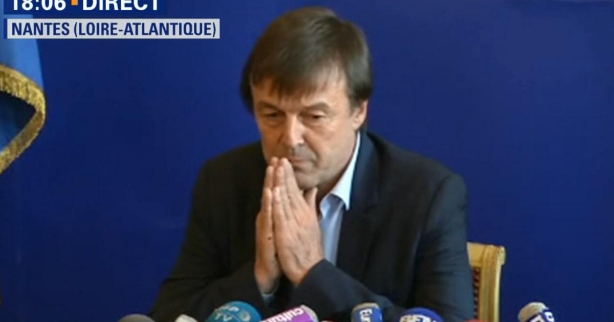 """Notre-Dame-des-Landes: Nicolas Hulot appelle les opposants à ne pas """"confondre écologie et anarchie"""""""