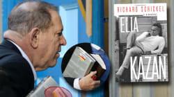 Os dois livros que Harvey Weinstein estava segurando ao se entregar à