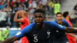 Umtiti débloque France-Belgique d'une tête