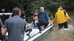 Vecinos samaritanos rescatan a víctimas de la catástrofe en