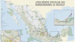 Explosiones y derrames de gasoductos son un riesgo para la población (que este mapa busca