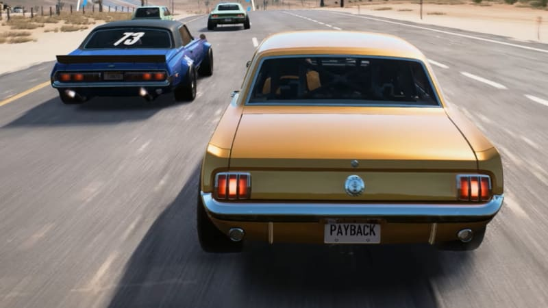 New Need For Speed Payback Trailer Reveals Cool Classics Loads