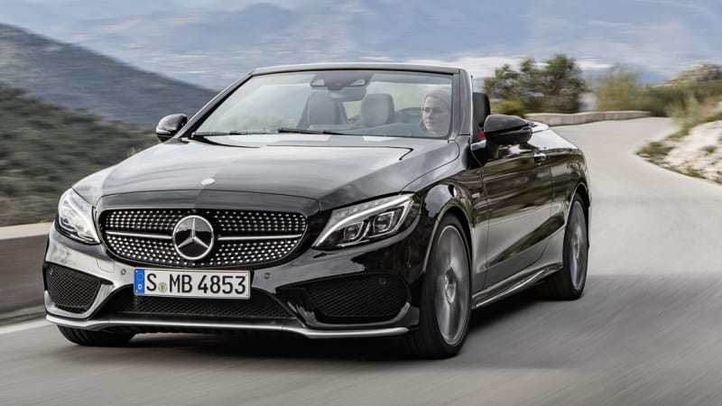 Mercedes Benz C Class Cabriolet Debuts In Standard Amg