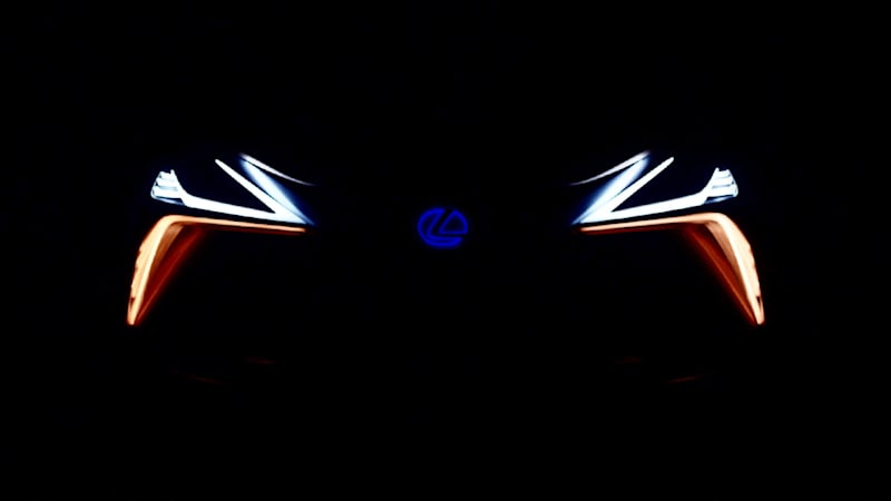 Lexus drops second teaser for LF-1 Limitless crossover concept