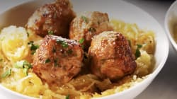 These Turkey Meatballs Will Give You Strength For More Snow