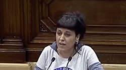 La camiseta de Anna Gabriel en el Parlament da mucho que hablar por su