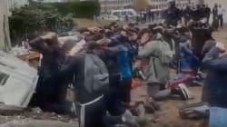 Ces images d'arrestations de jeunes à Mantes-la-Jolie