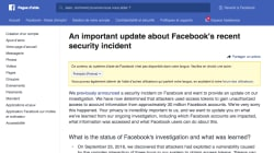 Vous pouvez désormais savoir si votre compte Facebook a été victime du dernier
