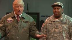 Alec Baldwin Battles Real Aliens On 'SNL' As