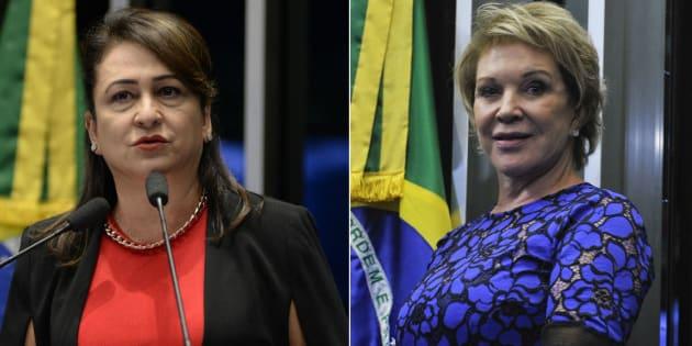 Senadoras do PMDB, partido de Michel Temer, Kátia Abreu e Marta Suplicy avaliam que governo sofre desgaste um ano após impeachment de Dilma.