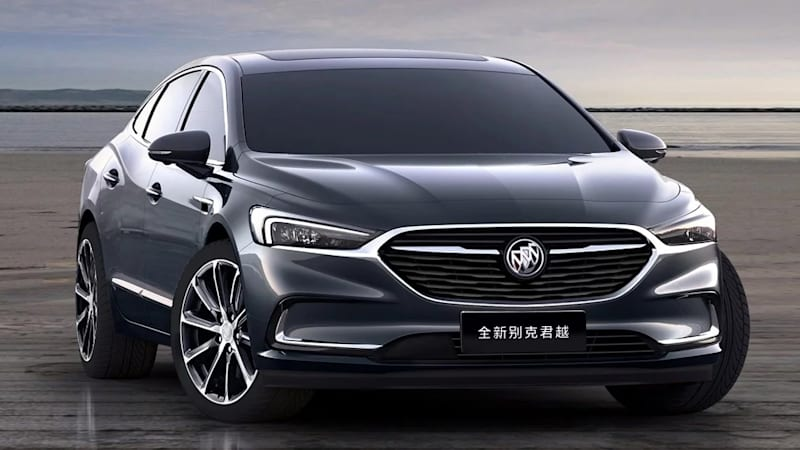 2020 Buick Lacrosse Shows A Handsome New Face But Not For