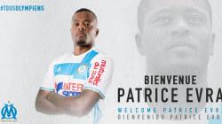 Patrice Evra signe à l'Olympique de