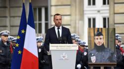 El novio del policía asesinado en París celebra una boda