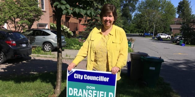 Liberal MP Anita Vandenbeld is shown in an image she posted to Twitter on Aug. 23.