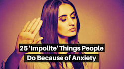 25 'Impolite' Things People Do Because Of