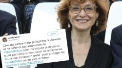 Noëlle Lenoir tente d'expliquer son tweet polémique sur les