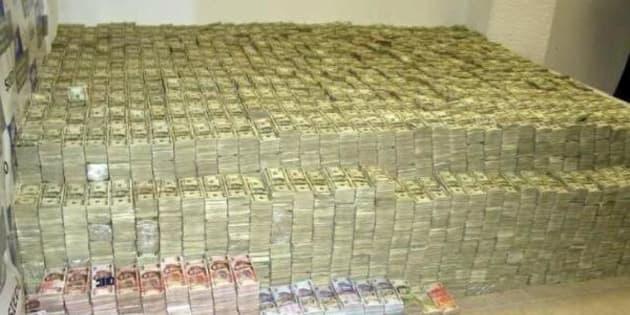 La PGR decomisó 10.5 millones de dólares en efectivo en una casa de Lomas de Chapultepec y departamentos de lujo en Nuevo Polanco.