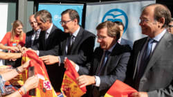 El PP de Madrid lanza una campaña para poner banderas de España en los balcones el
