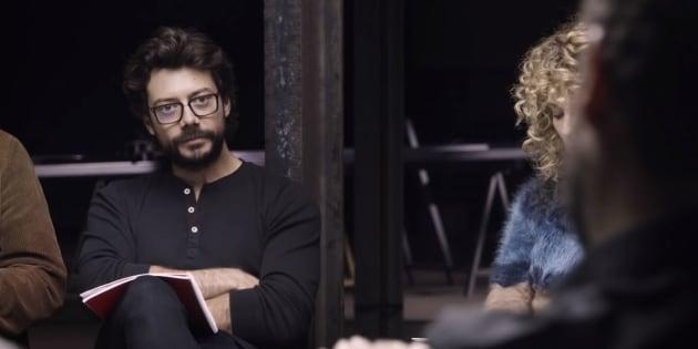 """Álvaro Morte (Le Professeur) dans le teaser inédit de la saison 3 de """"La Casa de Papel"""""""