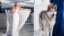 This 'Game Of Thrones' Wedding Shoot Even Had A Real-Life Dire