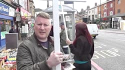 Far-Right Group Confronted By 'Extremely British Muslim' And
