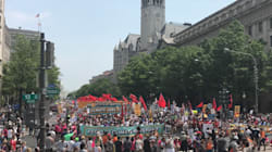 Thousands March In Washington, D.C. Heat To Demand Trump Act On Climate