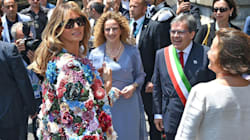 Melania Trump Steps Out In Floral Jacket Worth A Year's