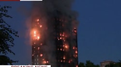 Fears Of People Trapped As London Apartment Complex Is Consumed By