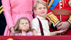 Prince George And Princess Charlotte Stole The Show At Trooping The