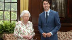 Justin Trudeau se reunió con la reina Elizabeth y derritió los corazones de las