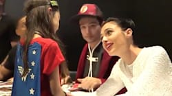 Little Girl's Reaction To Meeting Gal Gadot Shows Why 'Wonder Woman'