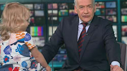 Toddler Causes Chaos On TV Lunchtime