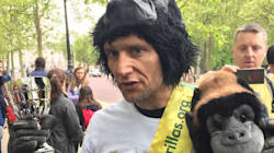 'Mr Gorilla' Completes London Marathon 2017 As Gorilla Organisation Praises Met Police Officer Tom