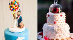 15 pasteles de bodas inspirados en la magia de