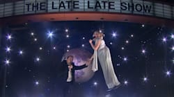 Nothing Will Ever Be As Awkward As Kristen Bell and James Corden's Aerial