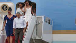 The Obamas Head Straight To Palm Springs For A Post-White House
