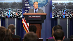 Trump And His Press Secretary Flagrantly Lied On Their First Full Day In Office. That
