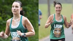 El motivo por el que esta corredora de maratón muestra orgullosa su