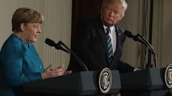 Donald Trump Says He And Angela Merkel 'Have Something In Common' On
