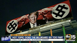 Nazi-Themed Trump Billboard To Stay Up As Long As He's President, Owner
